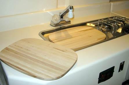 Trillium Trailer sink cover