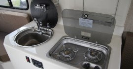 cook top and sink install kitchen trillium